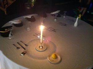 MIA/POW Table at Air Force Gala 2012